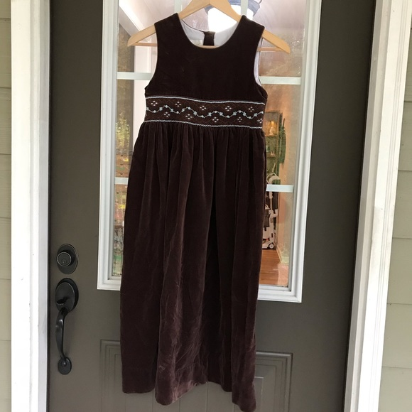 Old-Fashioned Brown Dress